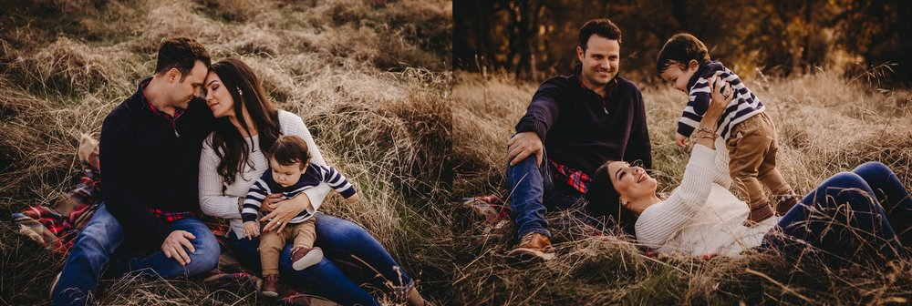 family photo session, family playing in the grass, Becci Ravera Photography