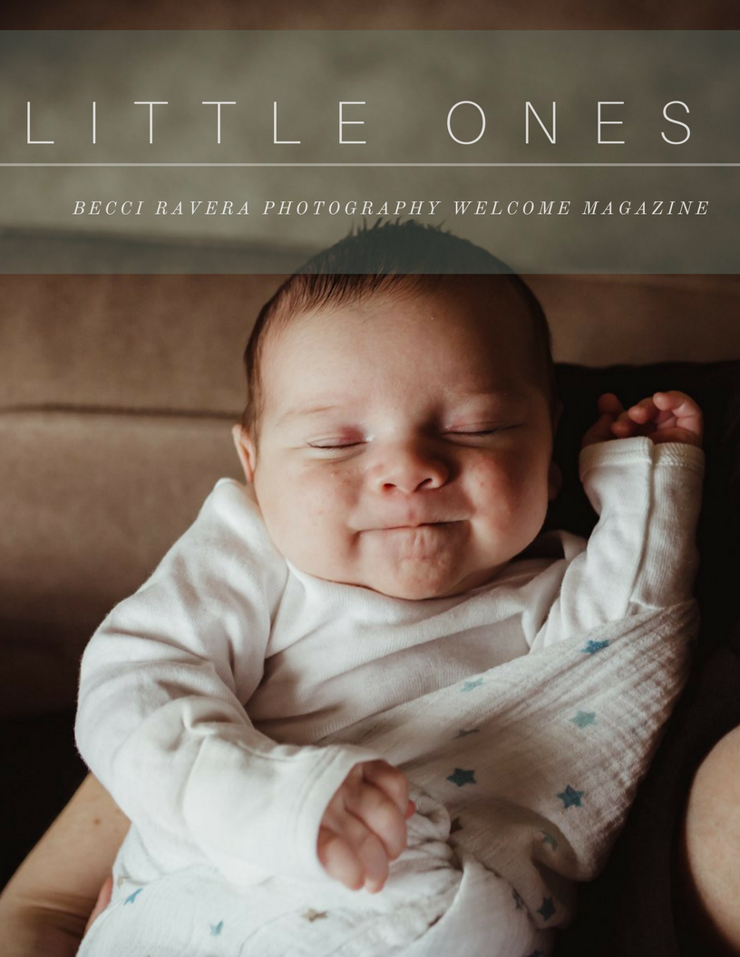 NEWBORN WELCOME MAGAZINE