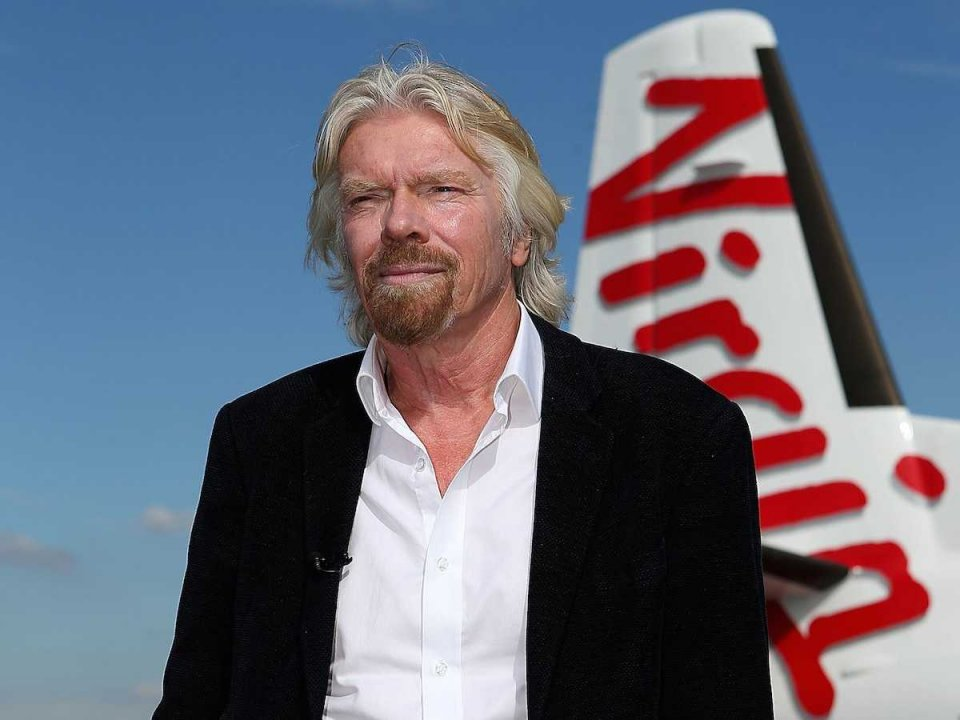 Sir Richard Branson is our Chief Inspiration Officer, although we've never met. He continues to push the boundaries of entrepreneurial potential. Rick Justus views himself as a younger version of Sir Richard.
