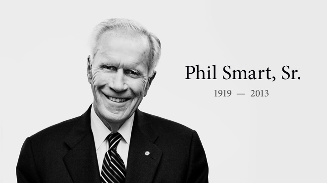 Phil Smart Sr. became Rick Justus' best friend and mentor in love and light. He and Rick shared the same birthday. Words are inadequate to describe their uncommon bond.