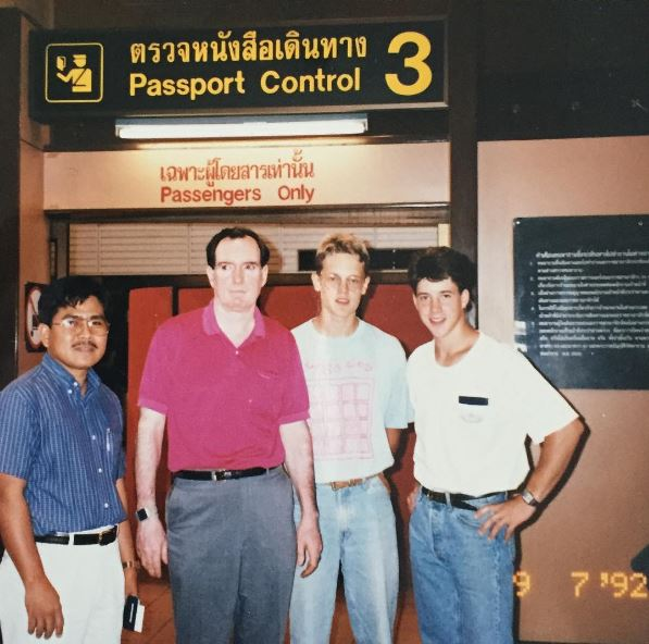 This was the dream team Rick Justus assembled to work with the Prime Minister of Cambodia during another time of war.