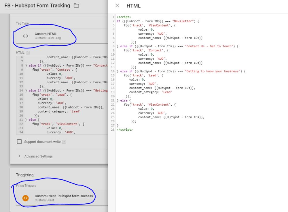 Google Tag Manager HubSpot Facebook Tracker.png
