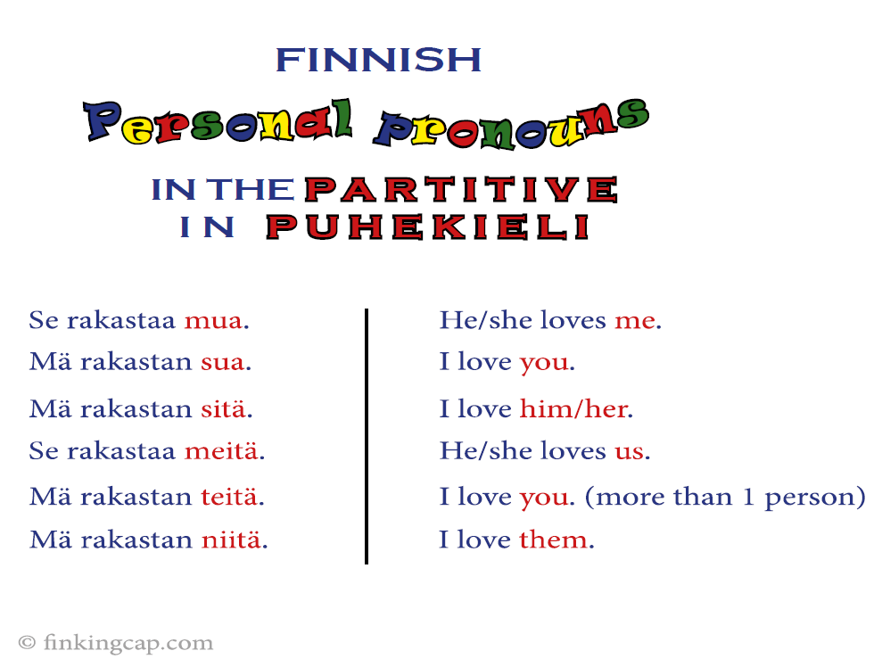 personal_pronouns_partitive_puhekieli