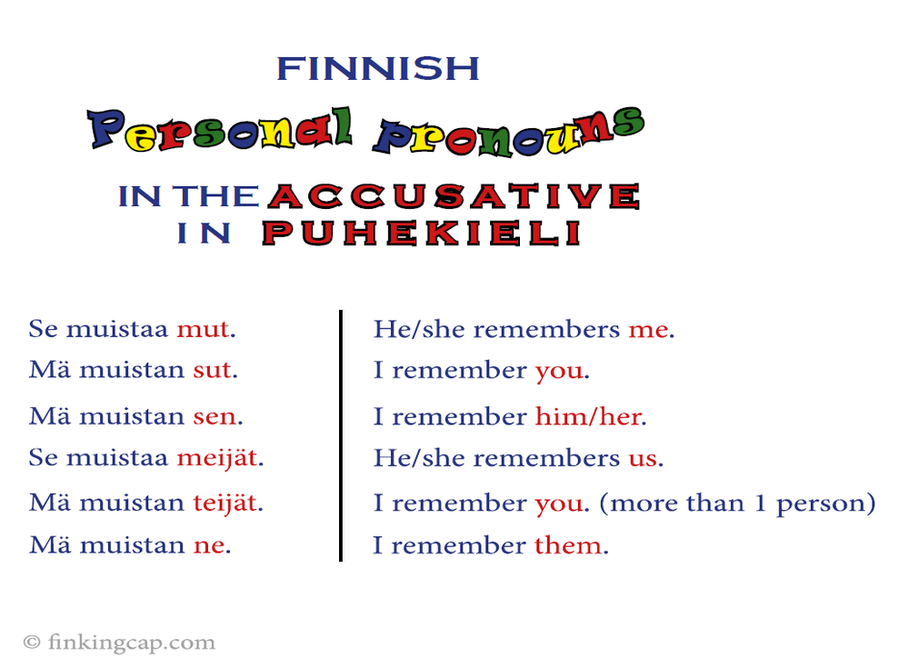 personal_pronouns_accusative_puhekieli