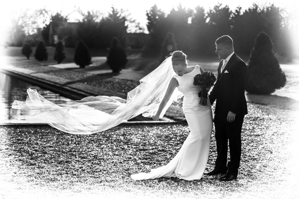 Paul and Harriet, Stubton Hall Winter Wedding