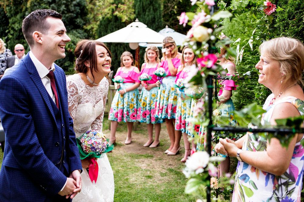 fun wedding ceremony in nottingham