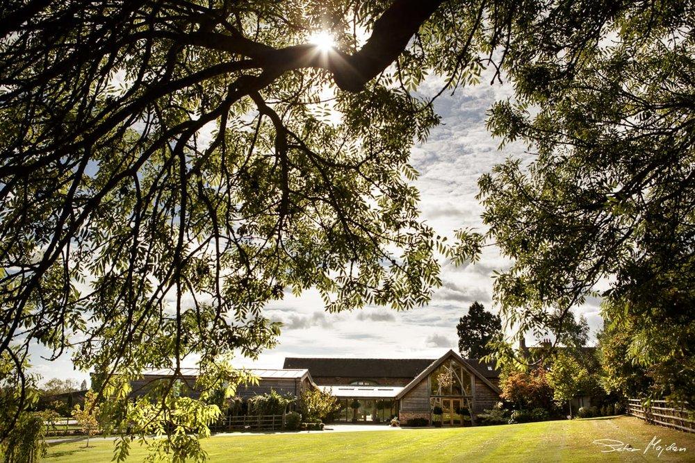 photo of mythe barn