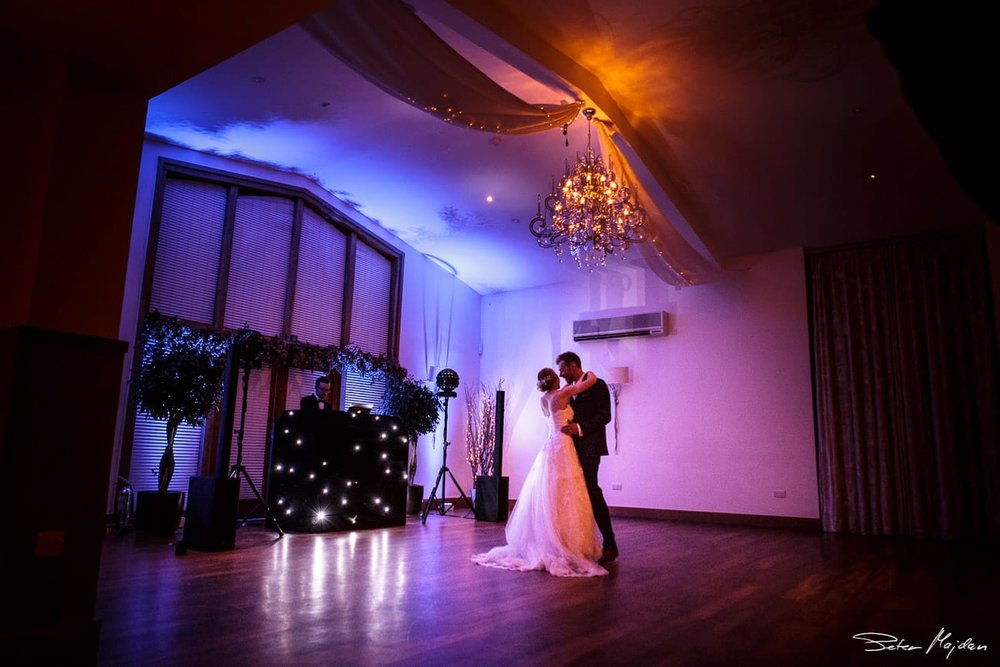 first dance for newlywed