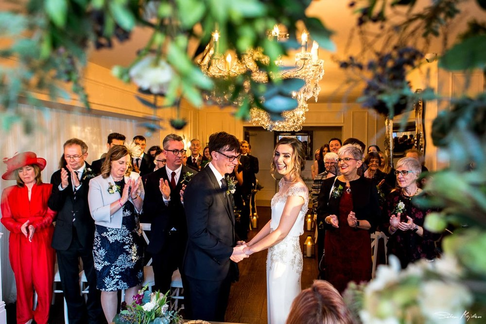 old vicarage wedding ceremony
