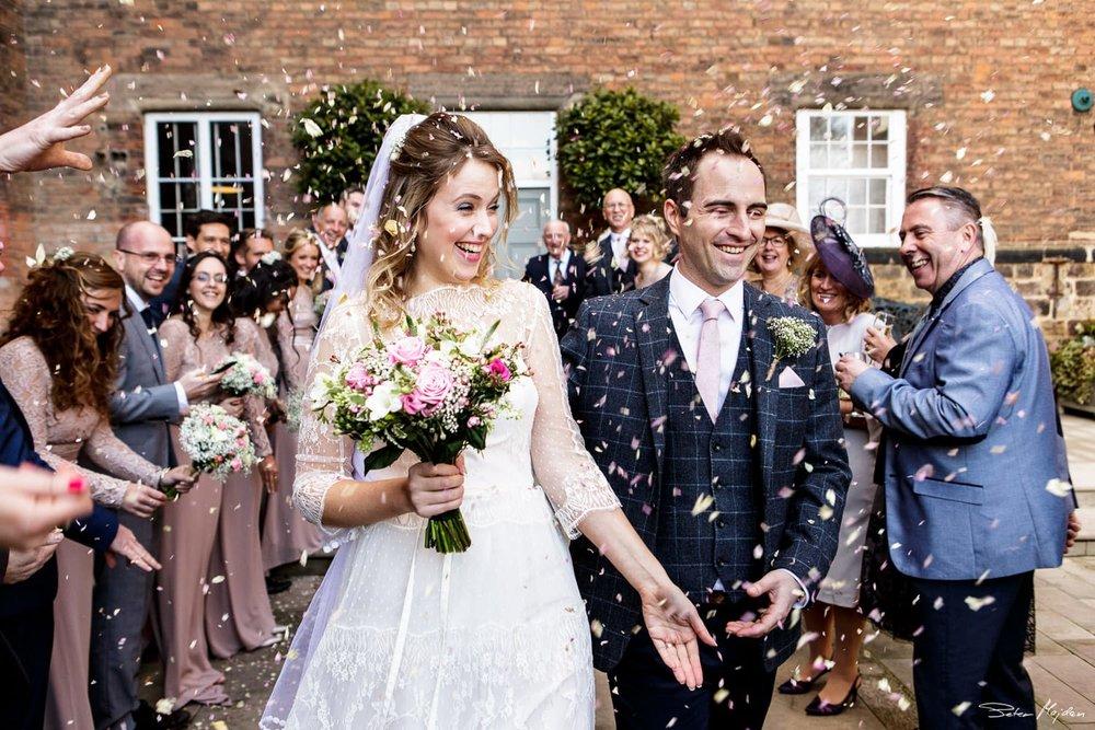 West Mill wedding photo