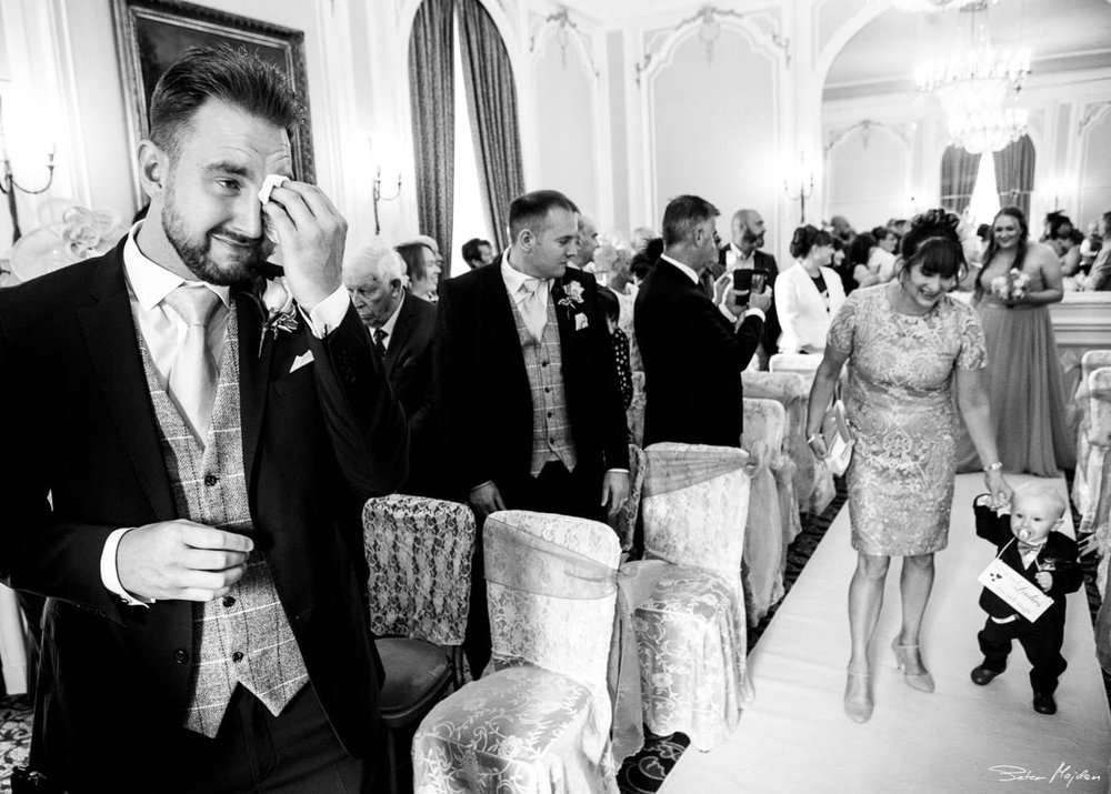 ringwood hall wedding photo