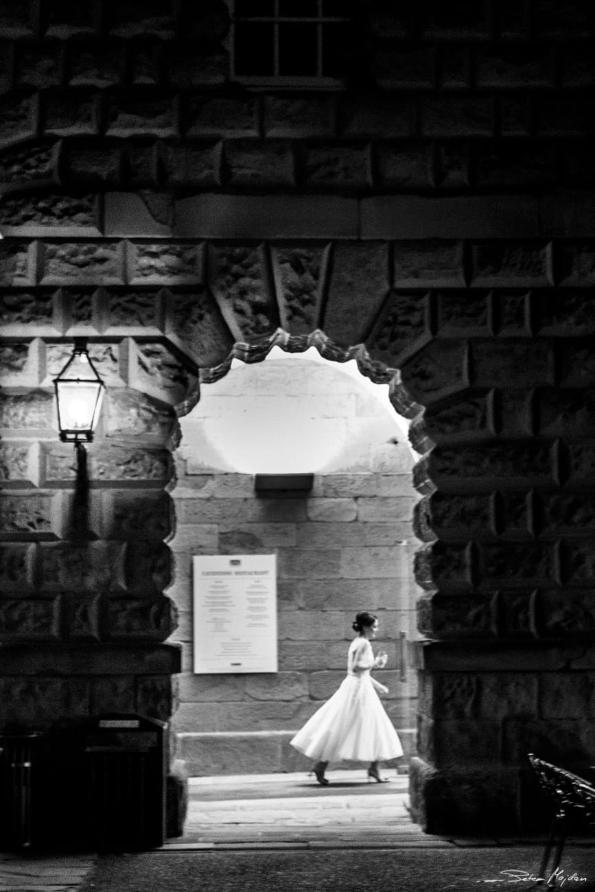bride at Stables at Chatsworth House