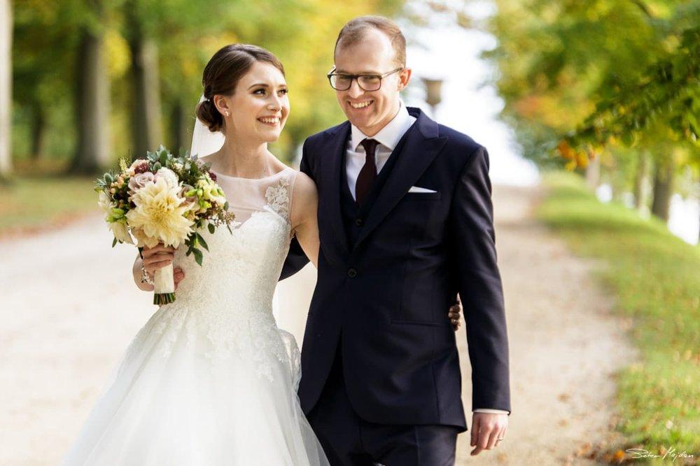 Chatsworth House wedding photo