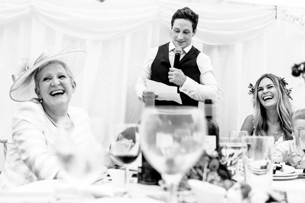 wedding speeches at Temple Newsam