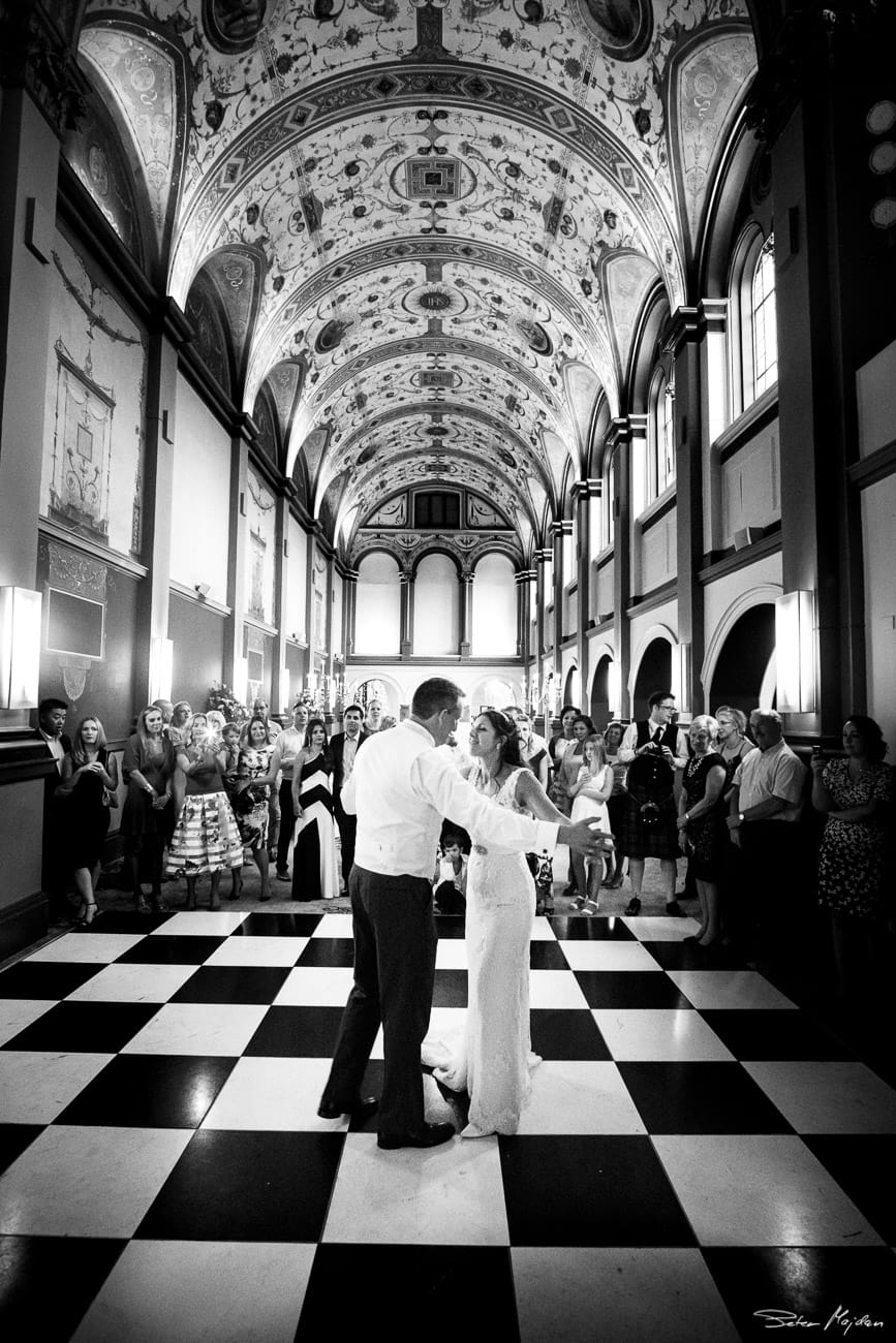 First dance at Beaumont Estate