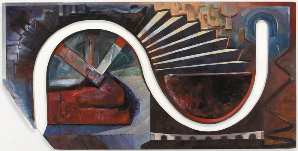 As Above So Below - 120x240cm - 1986