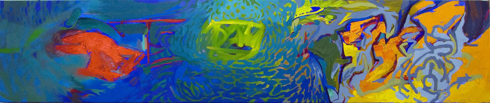 Cannibal Current 41x152cm 2009