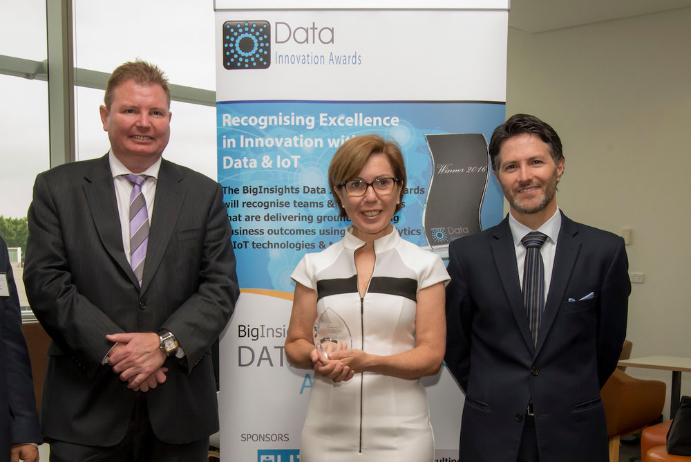 Federal Assistant Minister for Industry, Innovation & Science, Hon Craig Laundy, MP, and NSW Minister for Innovation & Better Regulation, Hon Victor Dominello presented the award to Natalie Verdon, in front of over 150 industry professionals at the University of Sydney.