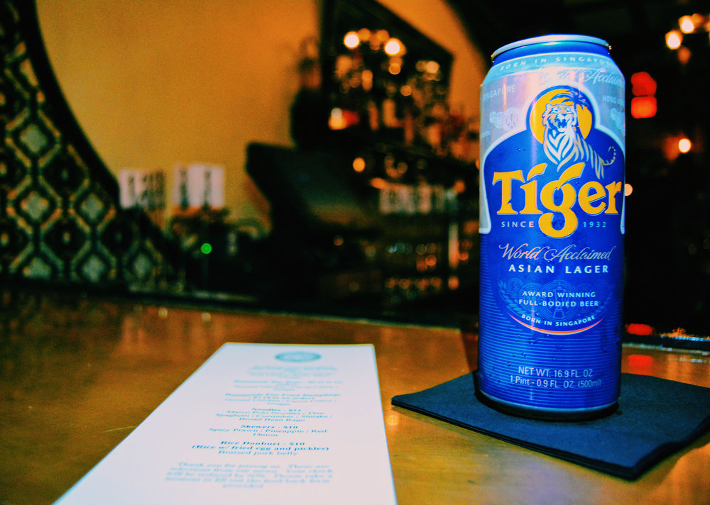 Ten Tigers Tiger Beer on Bar with cocktail menu.jpg
