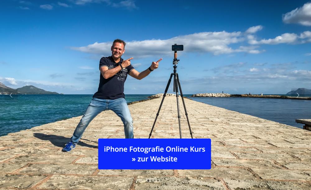 Hier kommst du direkt zum Online Kurs iPhone Fotografie von Werner Harrer