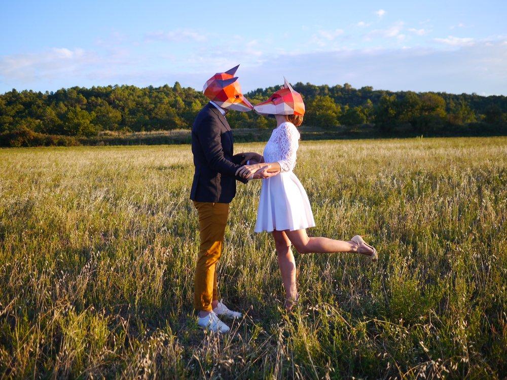 wedding mariage drome provençale La Demoiselle maison d'amis