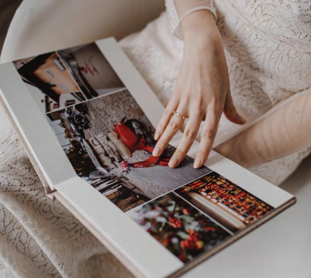 photo BOOK - hard cards