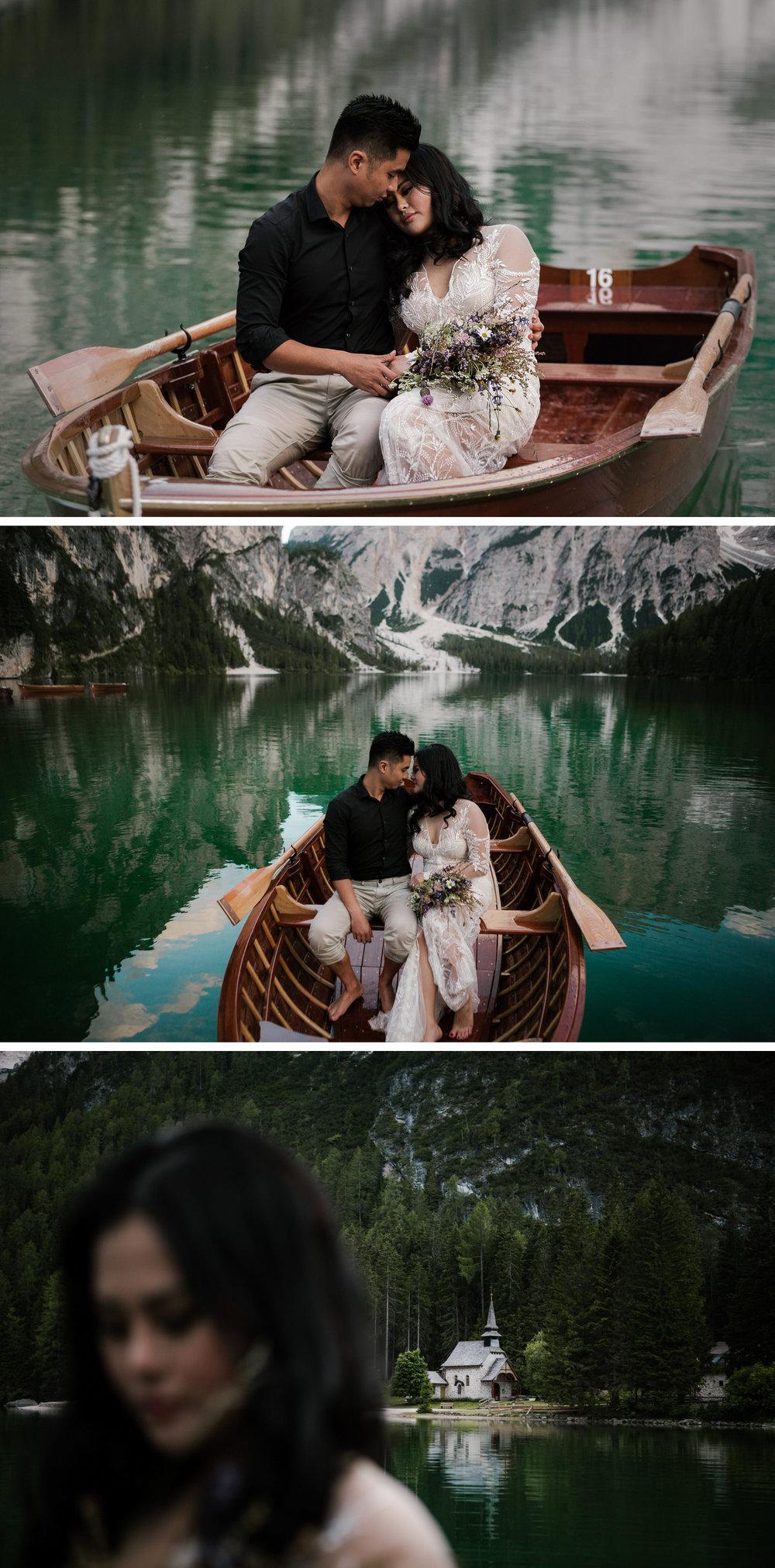 Lago di Braies Dolomites Wedding Shoot Fotomagoria 3.jpg