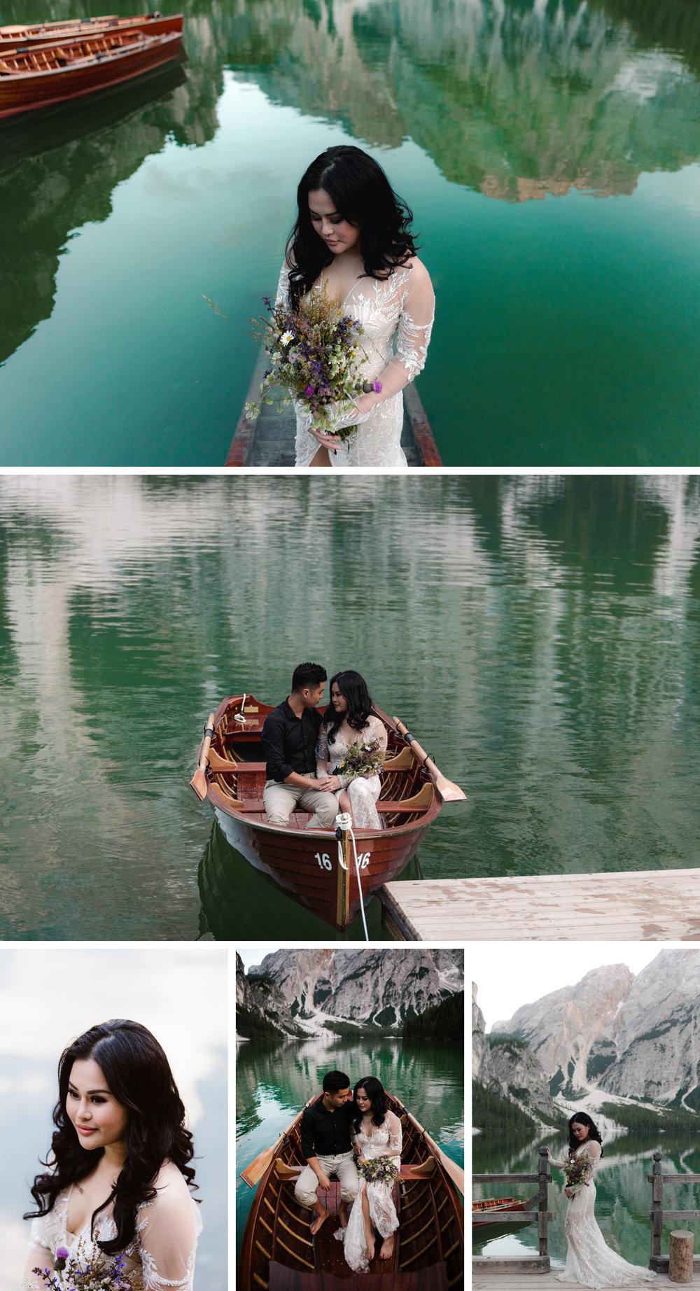 Lago di Braies Dolomites Wedding Shoot Fotomagoria 5.jpg