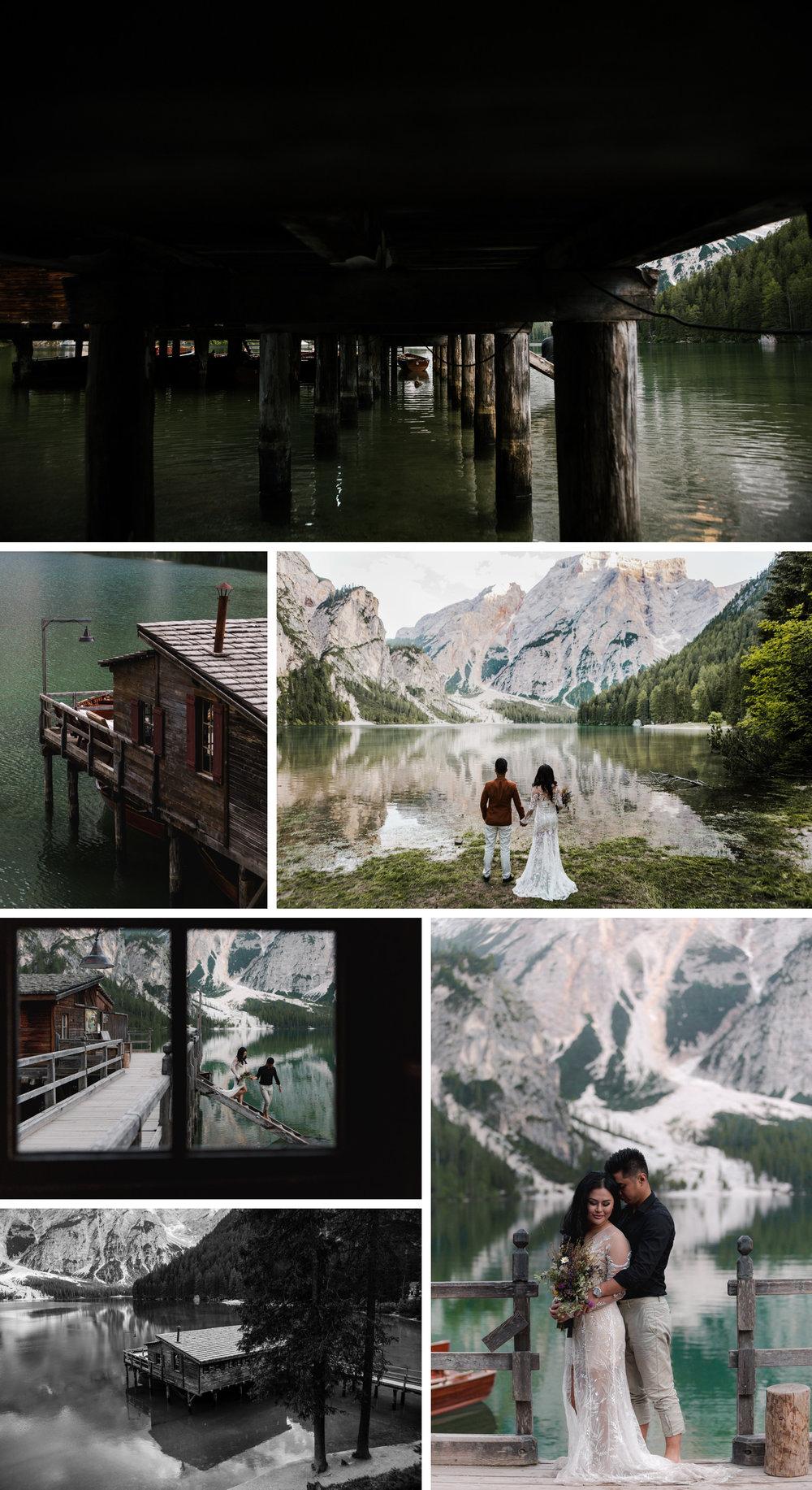 Lago di Braies Dolomites Wedding Shoot Fotomagoria 7.jpg