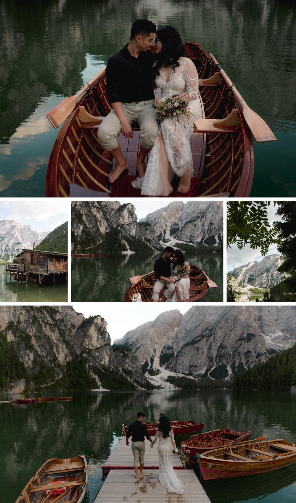 Lago di Braies Dolomites Wedding Shoot Fotomagoria 8.jpg
