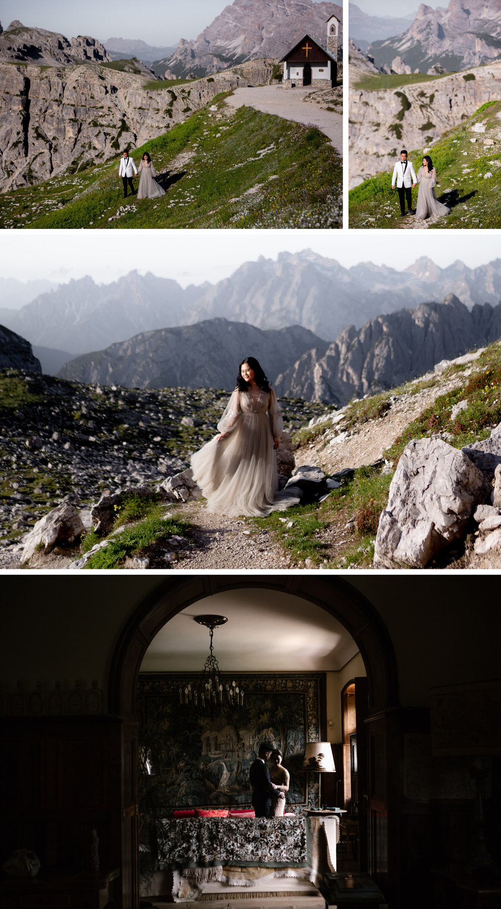 Lago di Braies Dolomites Wedding Shoot Fotomagoria 12.jpg