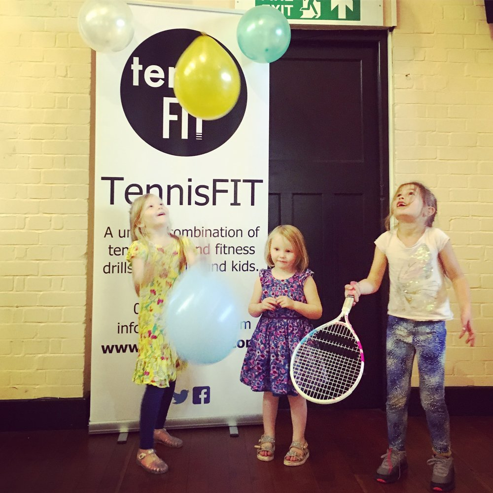 BIRTHDAY PARTY - TennisFIT provides professional, entertaining, educational and funny party for your child.This is a bespoke service offered to all ages, for all occasions and abilities - whether it be a 5year old birthday party or a corporate team bonding event. It's great fun with lots of games.