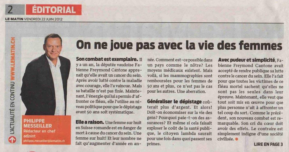 2012-06-22 Le Matin