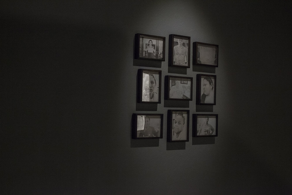 Instillation shot of 9 Daguerrotypes