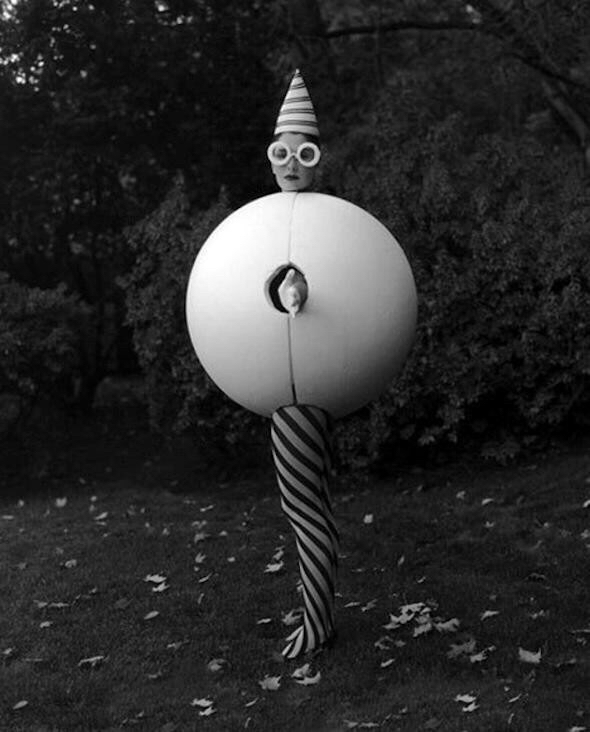 Costume for the  Triadic Ballet , Bauhaus, Germany c.1922.