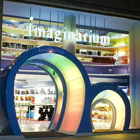 Entrance to the Imaginarium store
