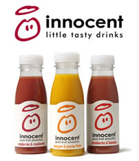 Little tasty drinks: Innocent's tag line