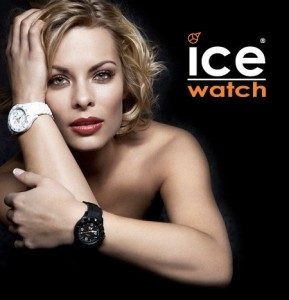 Melissa Ice Watch ad