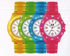 colorful ice watch