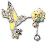Swarovski Nature brooch SS 2011