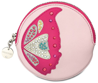 Swarovski Nymphe zip coin purse, SS 2011
