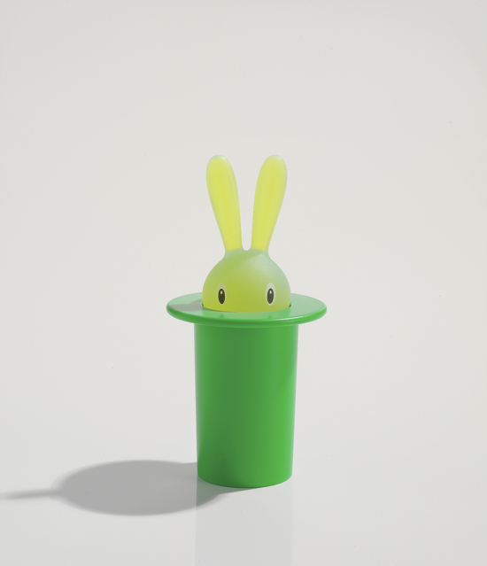 Schmoozy_Fox_Funky_Brand_Interviews_Magic Bunny_Toothpick holder_design Stefano Giovannoni 1998
