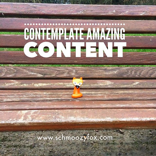 🦊Contemplate content🦊 ✌🏻If there's no brand vision, there's no content strategy. In order to say something interesting in social media (and be heard! ☝🏻) you need to have strong beliefs, ideas and #imagination about the success of your brand. Whom do you want to serve? What do you want to bring into the world with your products or services? What amazing things would you like to achieve? But having a vision is just the first step. You also need to have a #voice 🎤The more authentic your vision is, the stronger your voice will become.  #brandvision #vision #businessvision #strategy #strategicvision #strategicobjectives #businessgoals #contentstrategy #successfulcontentstrategy #brandcontent #socialmediacontent #schmoozyfox #smartasafox #intelligentbranding #marketingstrategy #content #socialmedia #socialmediamarketing #socialmedia #socialmediatips #socialcontent #schmoozyfox