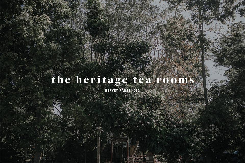 Heritage Tea rooms Hervey Range QLD