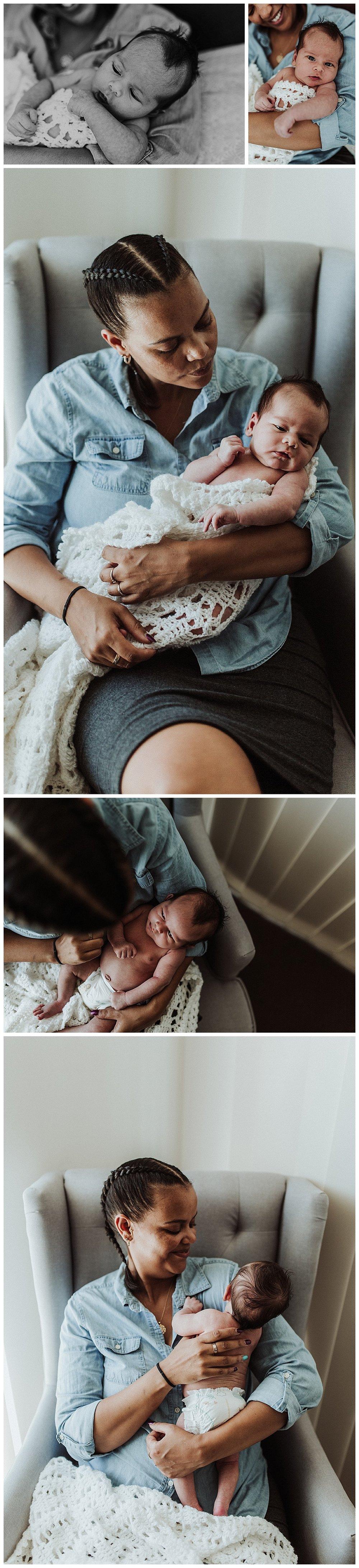 New mum newborn baby postpartum photographer Townsville