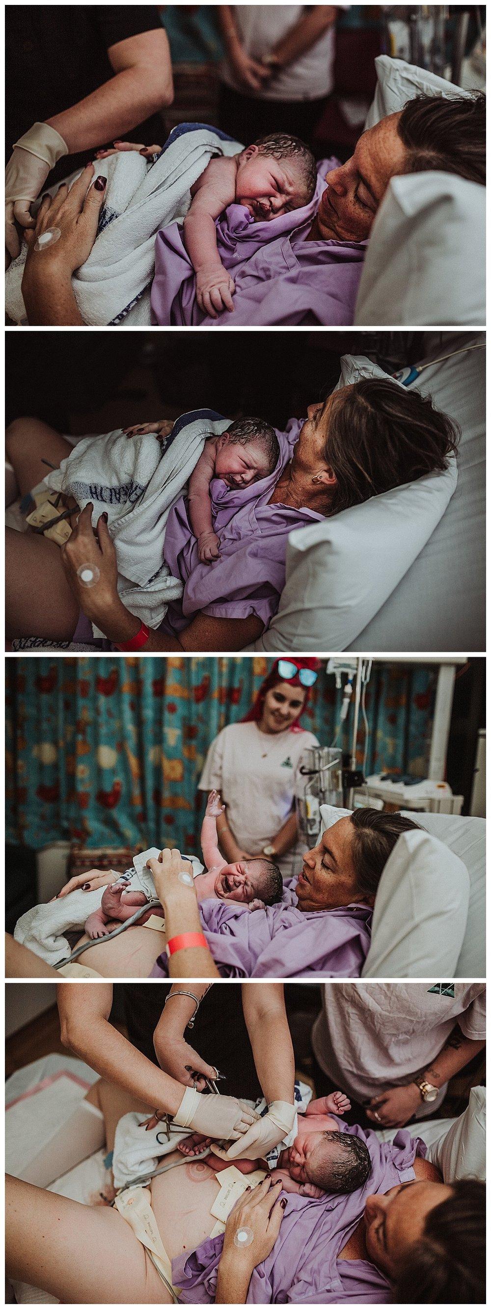 Townsville-hospital-birthing-unit-just-born-baby-nurse-midwife