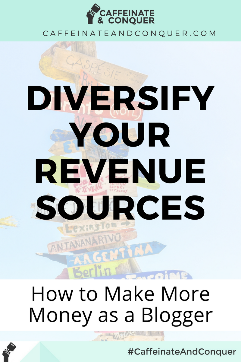 Ways to Diversify Your Income as a Blogger
