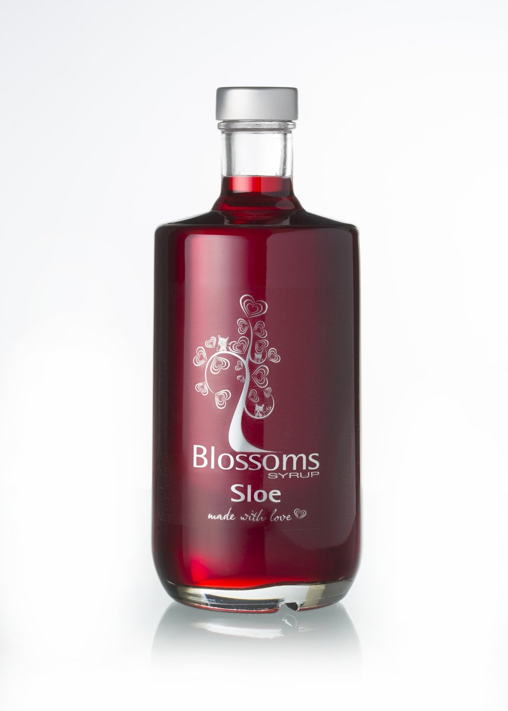 blossoms syrup sloe