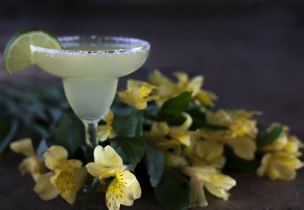 blossoms passionfruit margarita cocktail