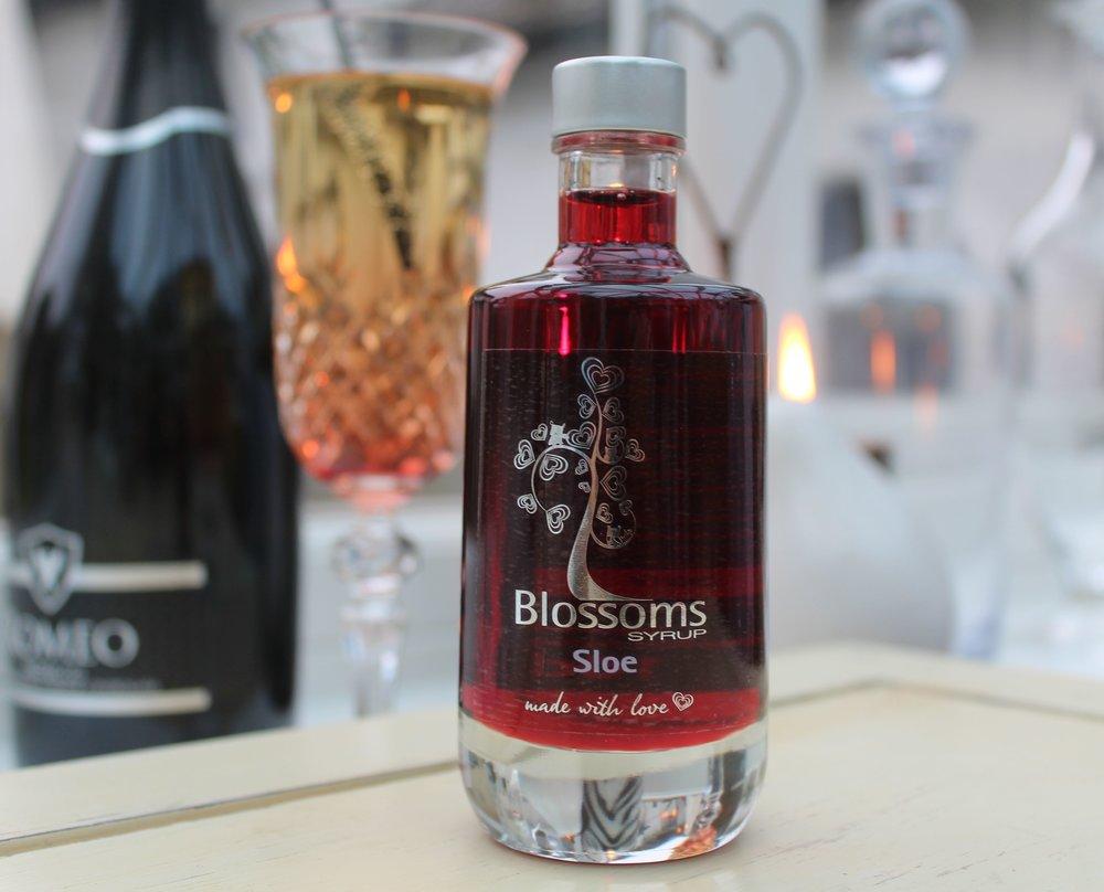 Blosssoms Sloe Prosecco